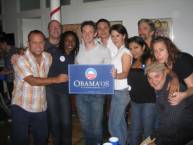 Kowalczyk Obama Party